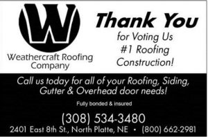 Thank you #1 NP Roofing ad 2017 small