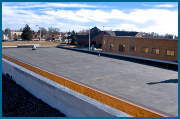 Commercial-Roofing Fully Adhered