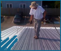 Commercial-Roofing metal-coating