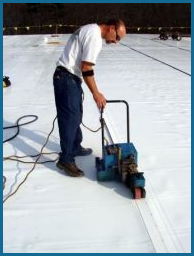 Commercial-Roofing PVC