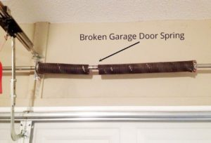 Winter Damage | Broken Spring | Cold Weather | Overhead Door | North Platte