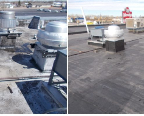 Commercial Roofing | Wendy's | Rubber Roofing | Firestone Roofing | Sterling, CO | Brush, CO | Weathercraft Roofing